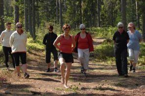 Medlemsdag i skogen